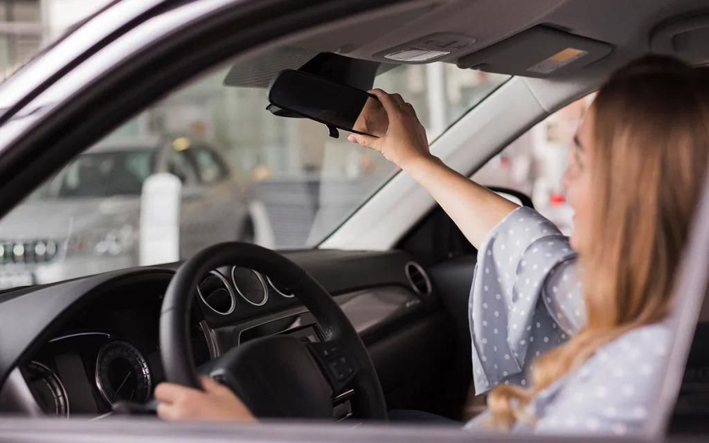 check used car interior