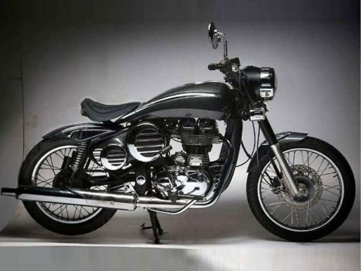 Royal Enfield classic by DC