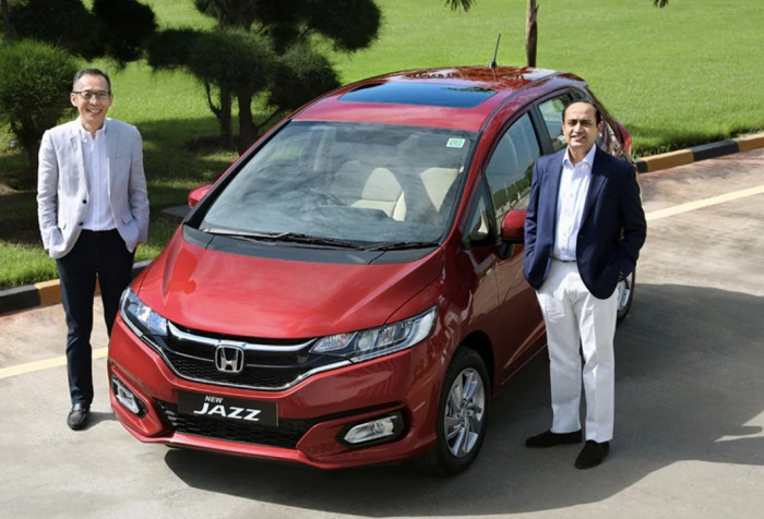 New honda jazz bs6