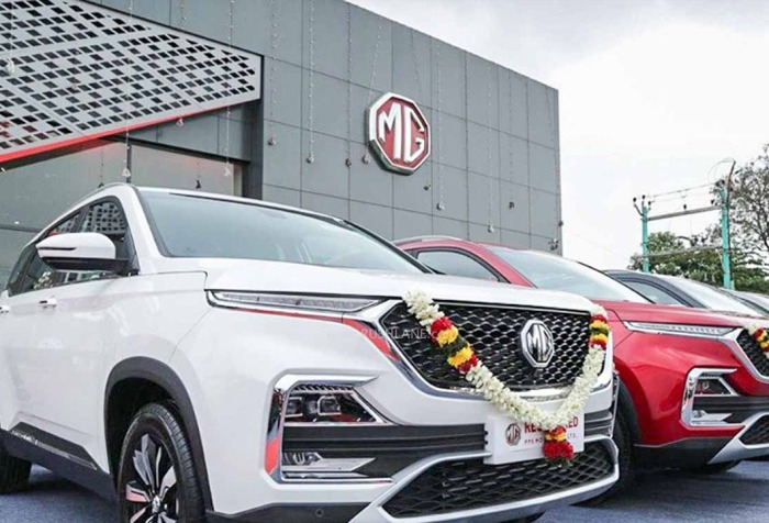 MG Motors India entered in Used car market