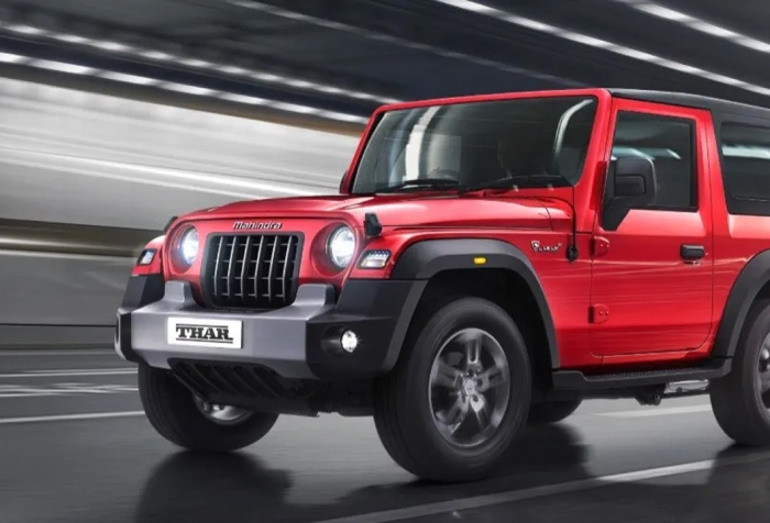2020 Mahindra Thar launch in India