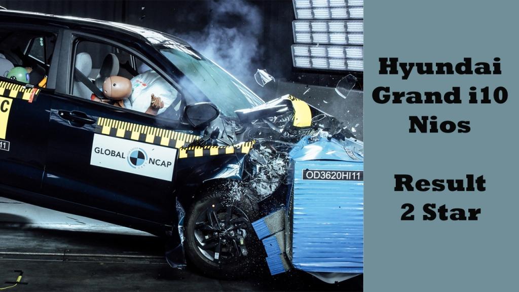 Hyundai Grand i10 Nios crash test result