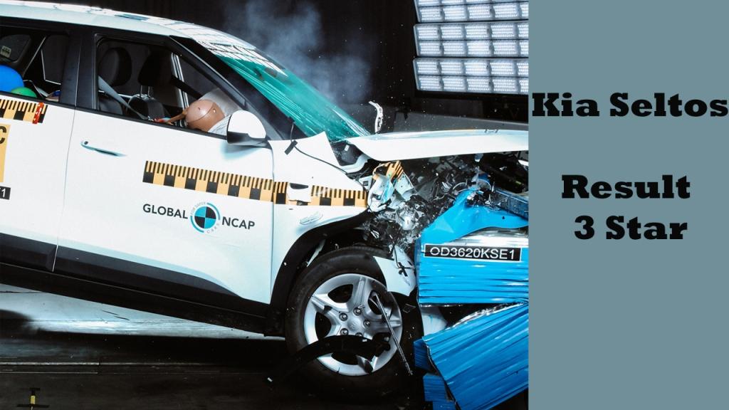 Kia Seltos crash test result