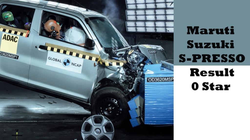 Maruti Suzuki S-Presso Crash Test result