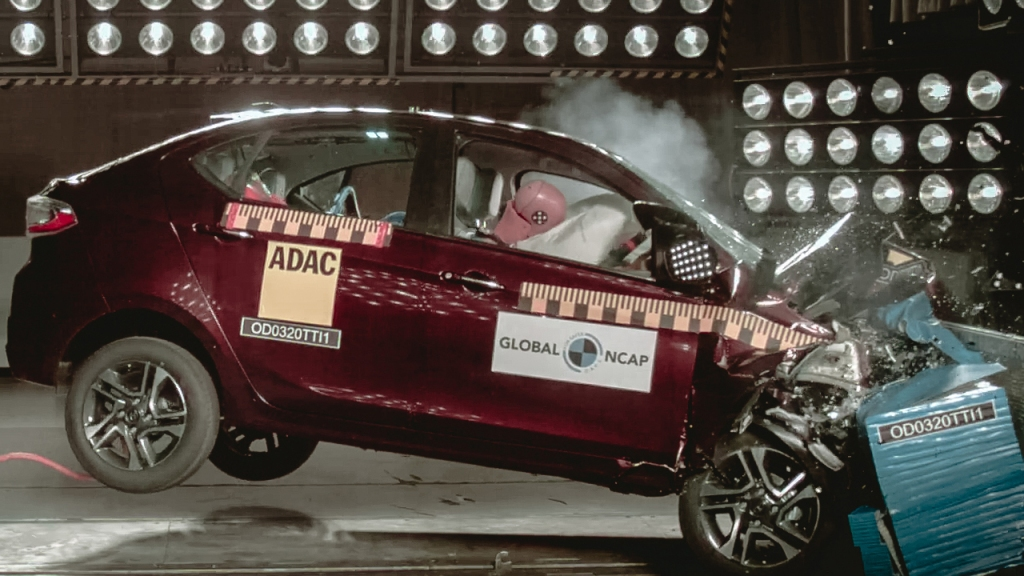 Tata Tigor crash test