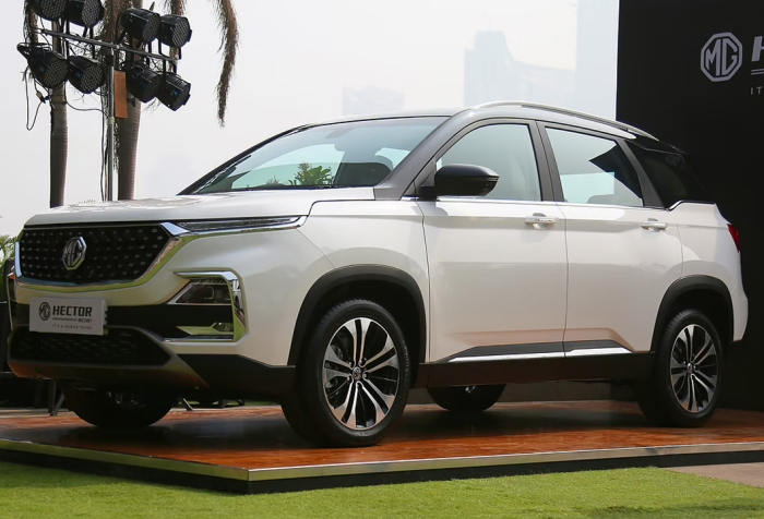 MG Hector petrol CVT launched