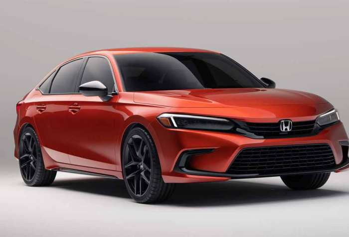 New Honda civic unveiled
