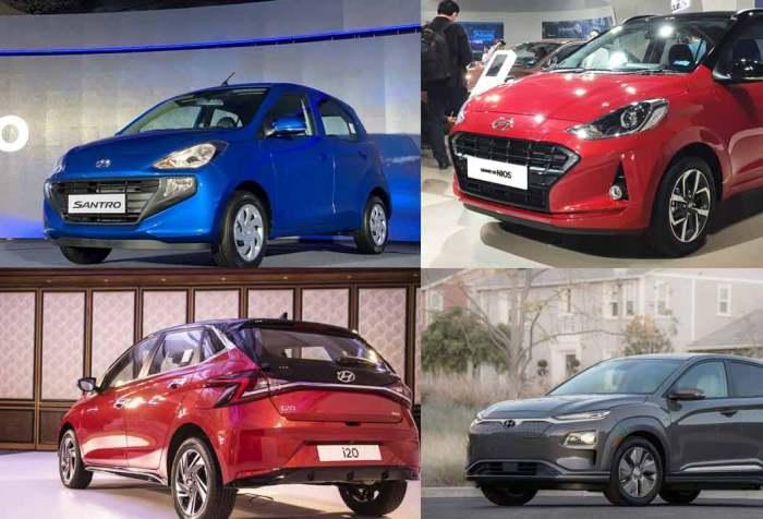 Hyundai cars in India