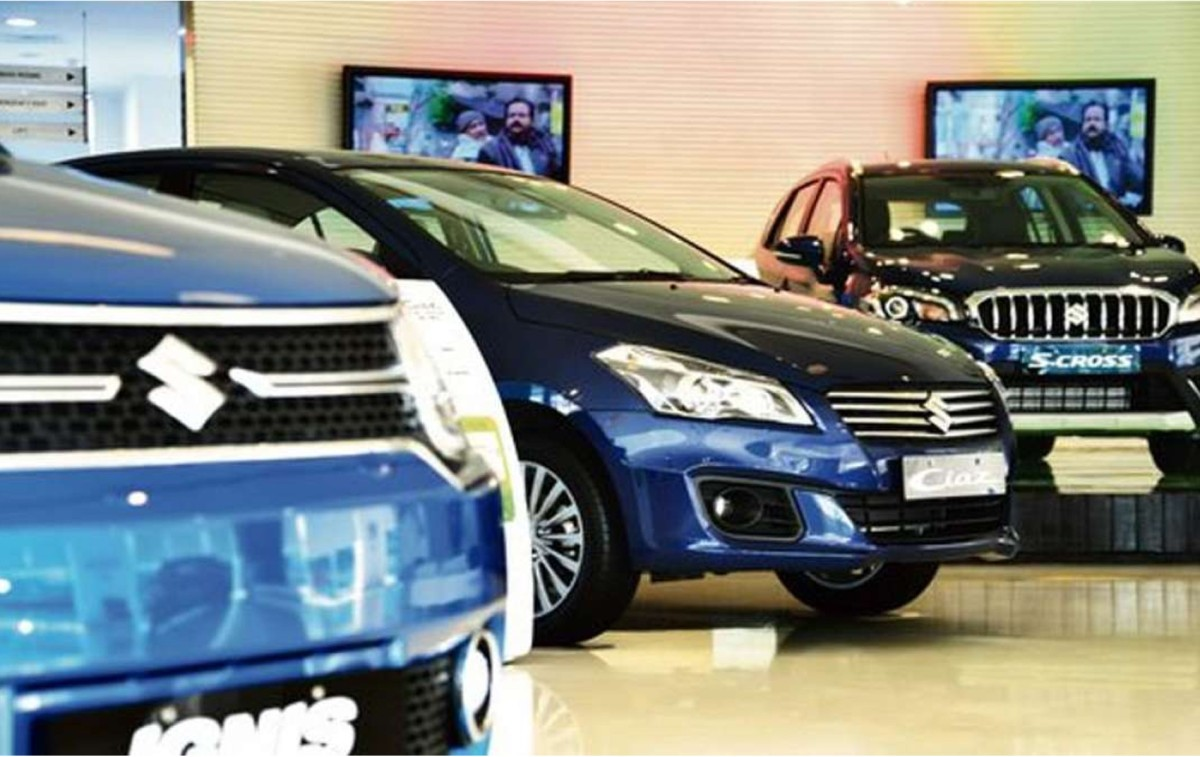Maruti Suzuki car Showroom