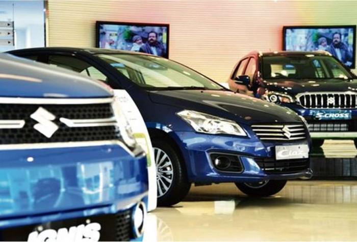 Maruti Suzuki car Showroom