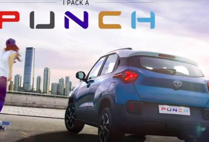 Tata punch-back profile