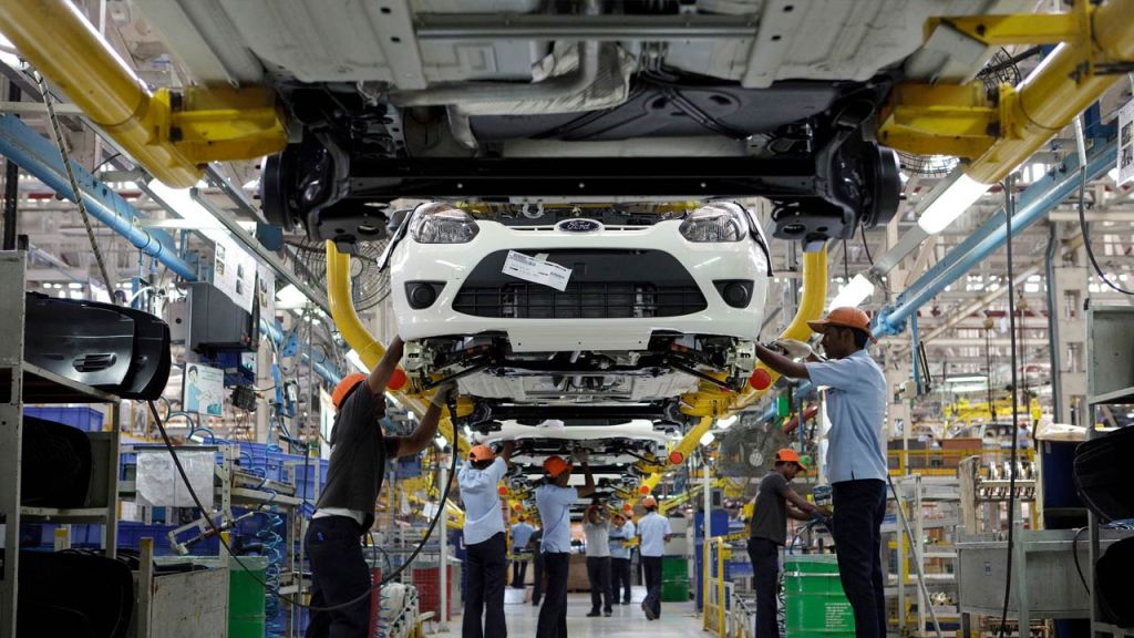 Ford India Manufacturing Plant