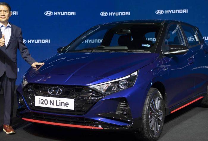 Hyundai new car i20-N Line