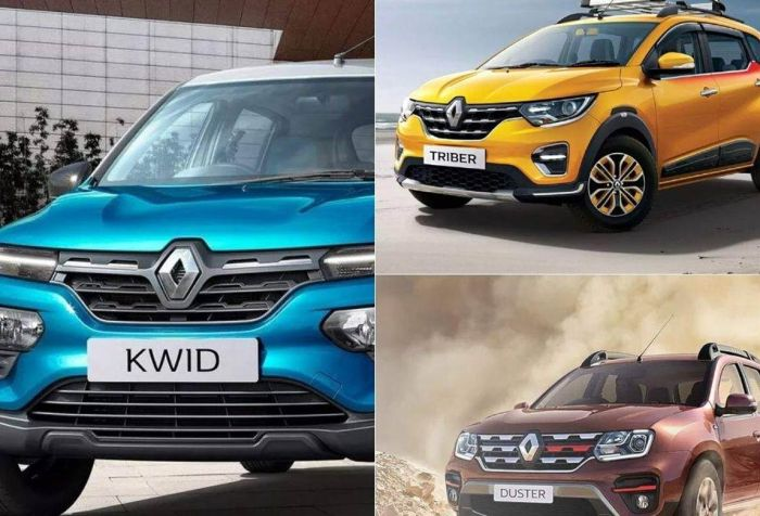 renault cars in india